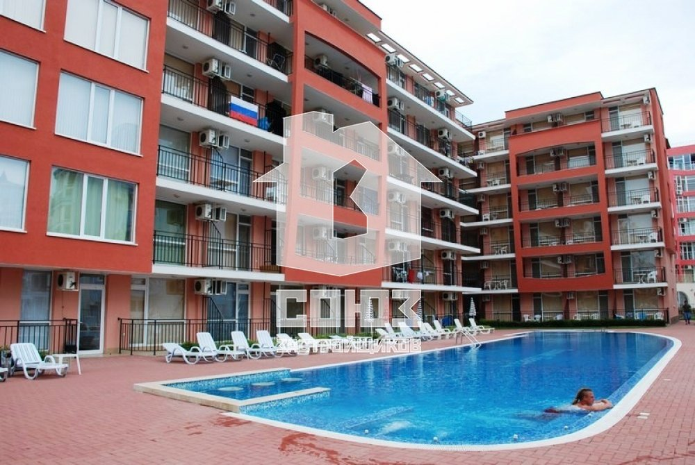 Студия в комплексе Sunset Beach 4